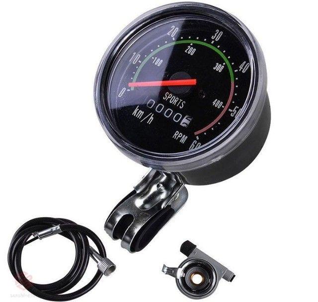Velocímetro com marcado de rpm