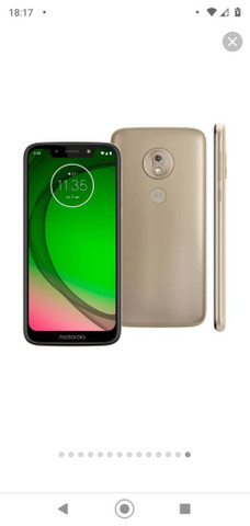 Moto G7 Play 32 GB ouro-fino 2 GB RAM<br>