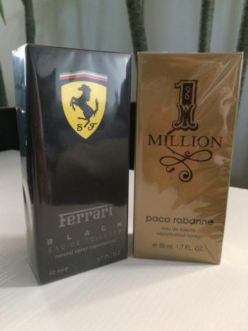 Ferrari Black 50ml + 1 One MILLION 50ml