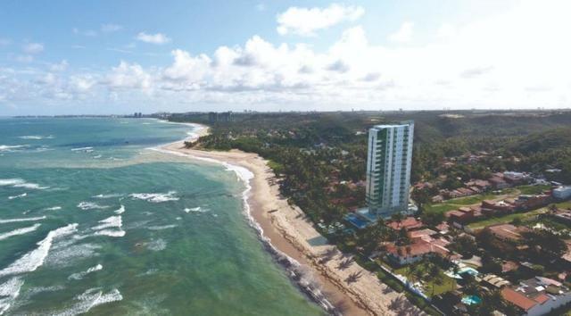 Lançamento apartamento beira mar da praia de Garça Torta litoral norte Maceió