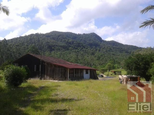 Sitio Plano Aceita Casa em Joinville, Com Água a Vontade