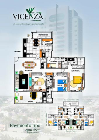 Apartamento 3 suítes, 3 vagas, Nova Betania