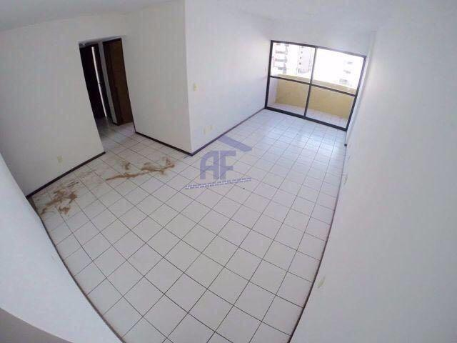 Apartamento com 3 quartos (1 suíte) - Edifício Revenant - Ponta Verde