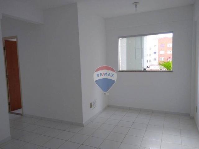 Apartamento com 2 dormitórios para alugar, 55 m² por r$ 600,00/mês - candeias - vitória da - Foto 2