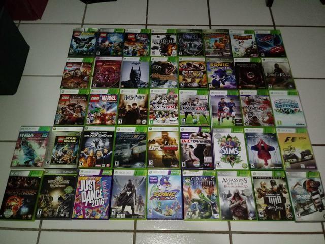 Xbox 360 com kinect + 42 Jogos (aceito propostas) - Foto 2