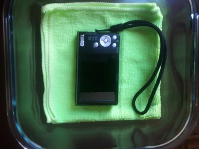 Câmera Digital Sony Cyber Shot Lcd De 2,7' 20.1mp Dsc-W830 Preto - Foto 5