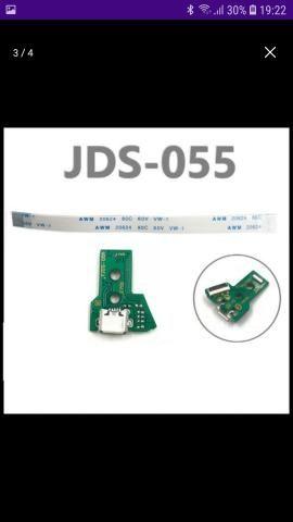 Placa Usb De Carga Ps4 Jds050 Jds055 Nova+ Flat