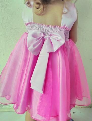 Vestido Princesa Rosa - Foto 3