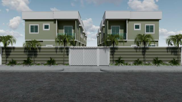 Casas Duplex Geminadas com garagem em Jardim Primavera