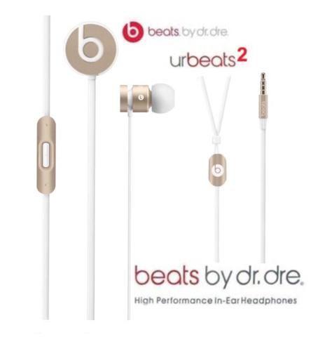 Fone Beats UrBeats 2 (Novo/Lacrado/Original) Gold Edition - Foto 2