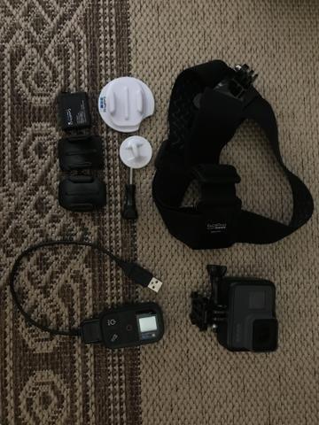 GoPro 5 com acessórios - Foto 4