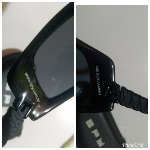 Óculos De Sol Spy Original - Modelo Bogu 40 Preto - Bijouterias ... 9b7f84671a