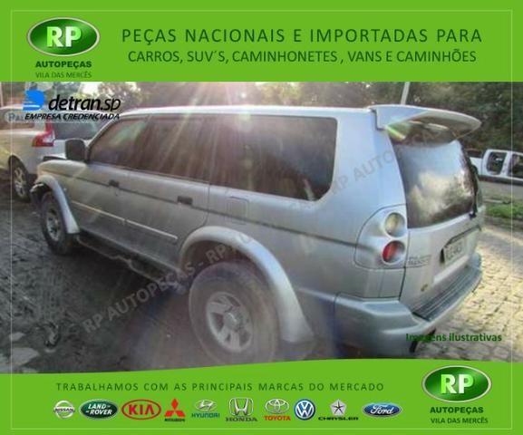 Sucata Pajero Sport 2.8 motor Diesel