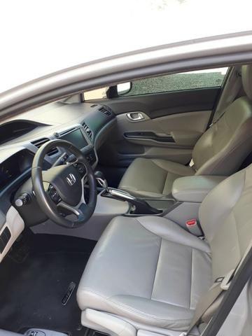 Honda Civic 2.0 LXR com kit multimídia original Honda 2013 - 2014 - Foto 13