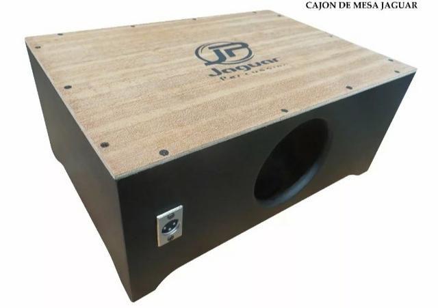 Cajon de colo Jaguar, elétrico (novo na caixa) - Instrumentos ... e9297f6963