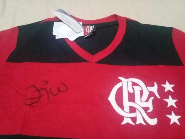 Camisa Flamengo Retrô Nº10 6be21ce03b574