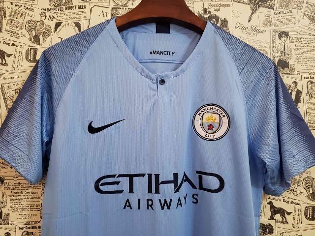 267cd6c462 Camisa Manchester City Importada (Fan 1.1) - Esportes e ginástica ...