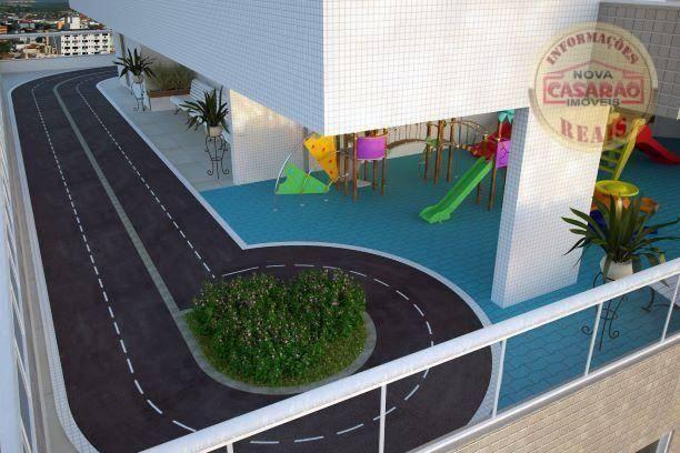 Apartamento com 2 dormitórios à venda, 72 m² por R$ 362.373 - Cidade Ocian - Praia Grande/ - Foto 13