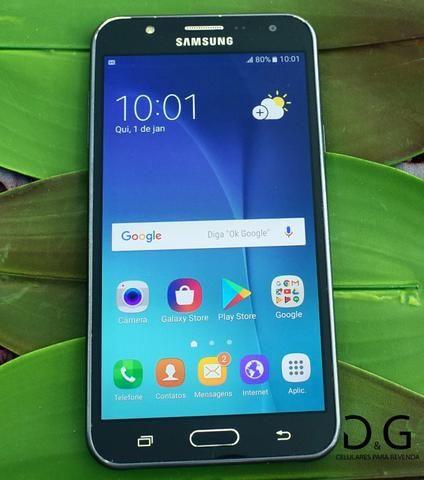 Samsung Galaxy J7 Duos 16GB Preto - Saldão - Em até 3x sem juros no cartão