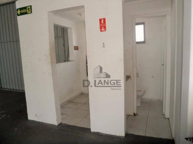 Barracão para alugar, 265 m² por r$ 4.200,00/mês - loteamento parque são martinho - campin - Foto 9