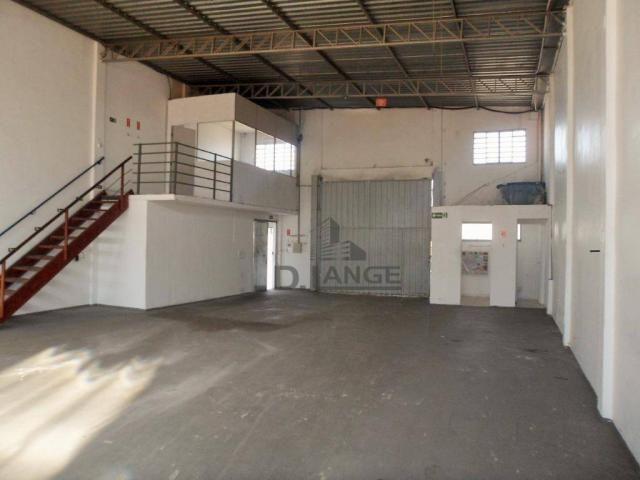 Barracão para alugar, 265 m² por r$ 4.200,00/mês - loteamento parque são martinho - campin - Foto 3