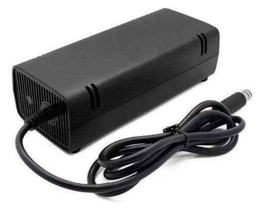 (NOVO) Fonte Xbox 360 Super Slim 120w Bivolt 110/220v (1 pino)