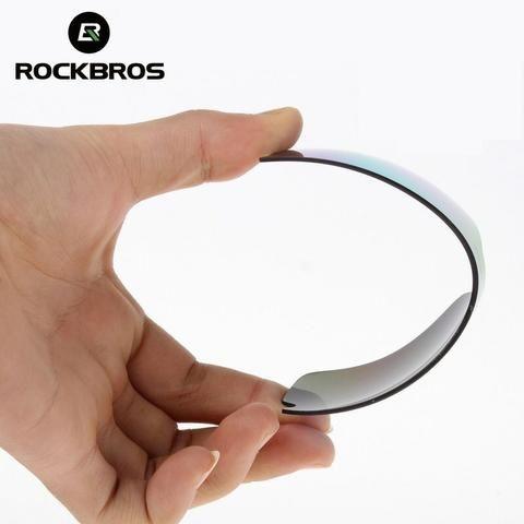 Kit Óculos 5 Lentes UV, 1 lente Polarizada Rockbros - Foto 2