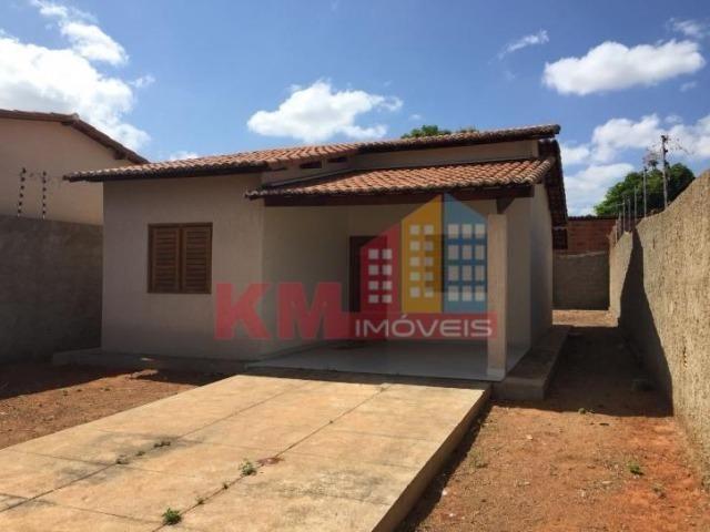 Aluga-se Casa Recém Construída no Três Vinténs - KM IMÓVEIS - Foto 4