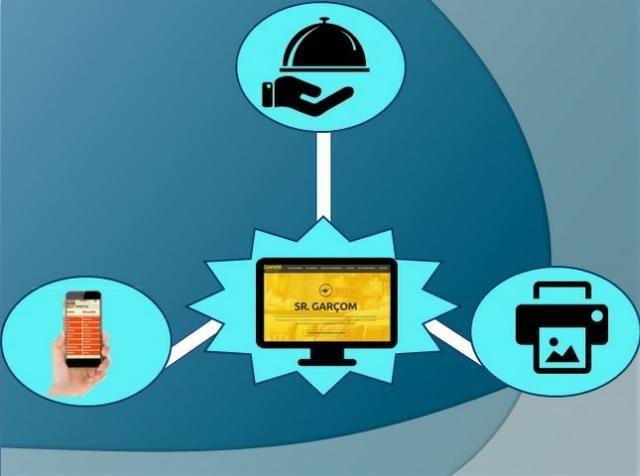 Celular Comanda Mobile Para Celulares E Tablets - Foto 2