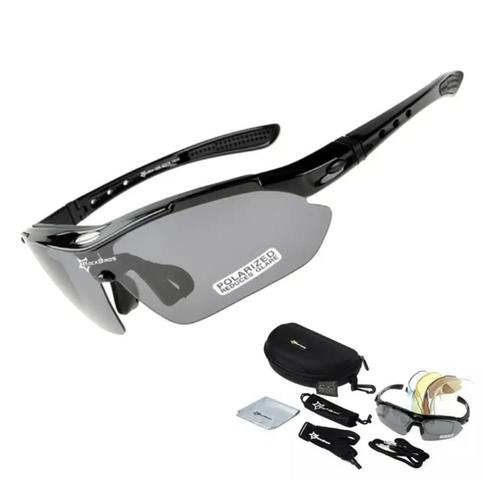 Kit Óculos 5 Lentes UV, 1 lente Polarizada Rockbros