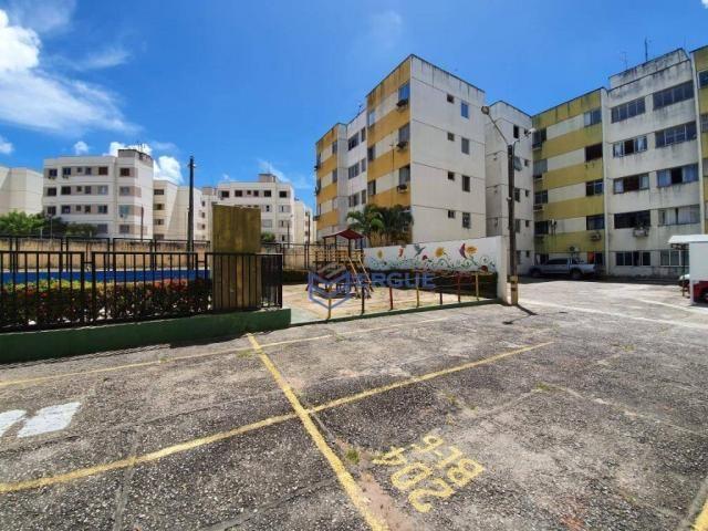 Apartamento com 3 dormitórios à venda, 64 m² por r$ 165.000 - cidade dos funcionários - fo - Foto 4