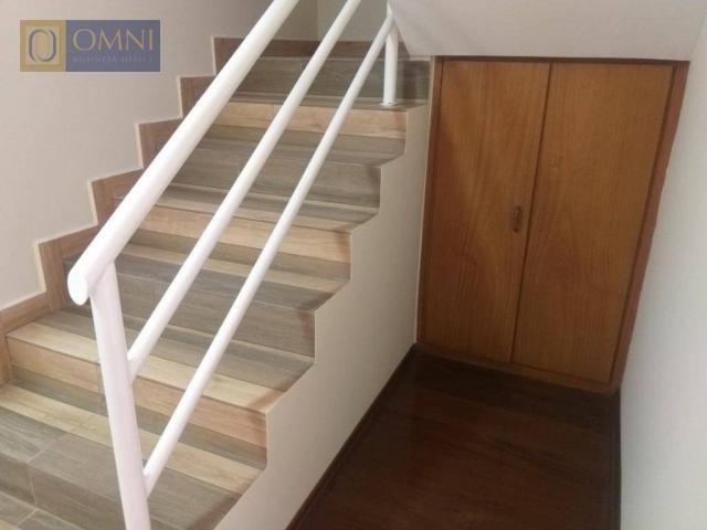 Sobrado com 4 dormitórios à venda, 208 m² por R$ 615.000,00 - Vila Valparaíso - Santo Andr - Foto 5