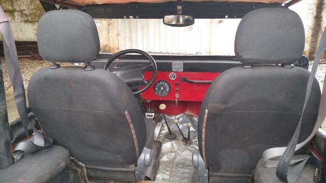 Jeep Willys 1977 4X4 Com Reduzida - Foto 15