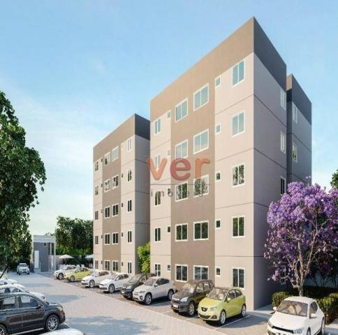 Apartamento à venda no centro da Caucaiapor R$ 124.990 - Padre Romualdo - Caucaia/CE