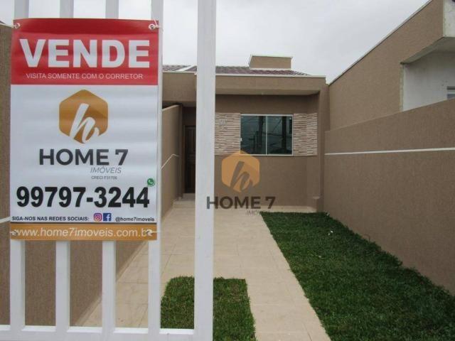 Casa com 2 dormitórios à venda, 43 m² por R$ 195.000 - Sítio Cercado