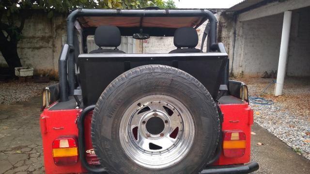 Jeep Willys 1977 4X4 Com Reduzida - Foto 2