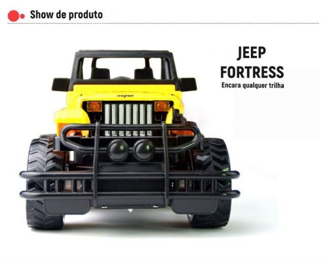 Jeep Radio controlado Fortress - Foto 2