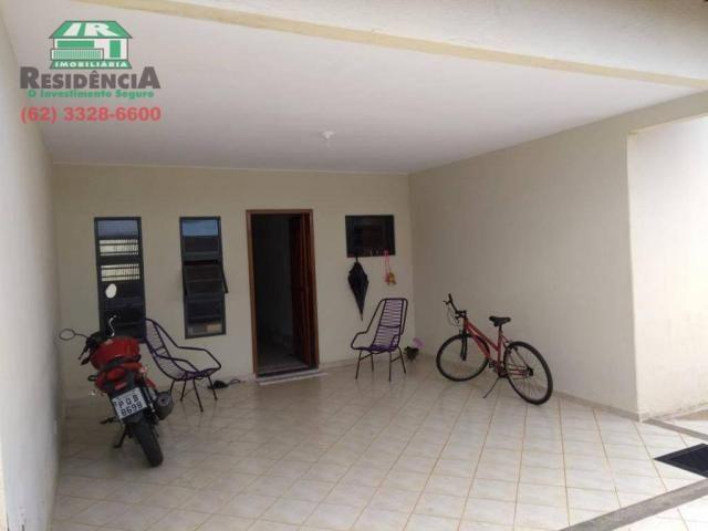 Casa com 3 dormitórios à venda, 98 m² por R$ 260.000 - Alvorada - Anápolis/GO - Foto 2