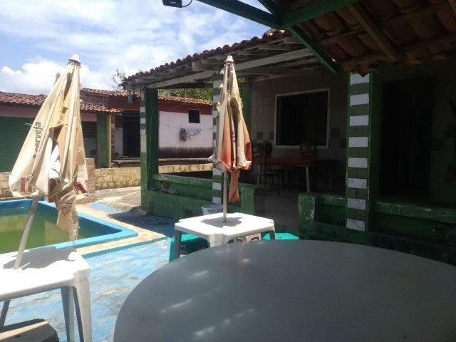 Casa com piscina e com pontos comerciais e 9 kitinetes na avenida em Itamaracá - Foto 8