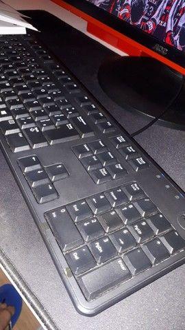 Teclado Dell USB usado