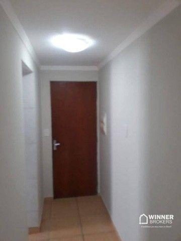 Apartamento com 3 dormitórios para alugar, 64 m² por R$ 900,00/mês - Zona 08 - Maringá/PR - Foto 12