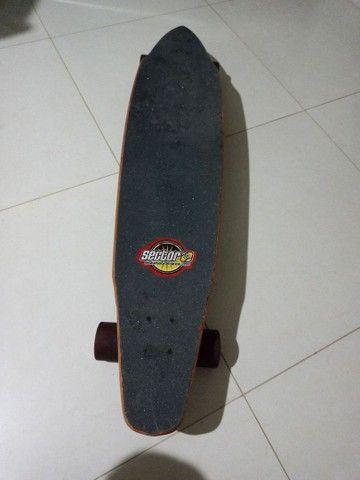 Skate longboard dowhill sector nine original americano - Foto 4