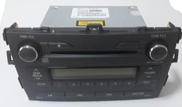 Radio Original Toyota Corolla Modelo (86120-02e80) - Foto 2