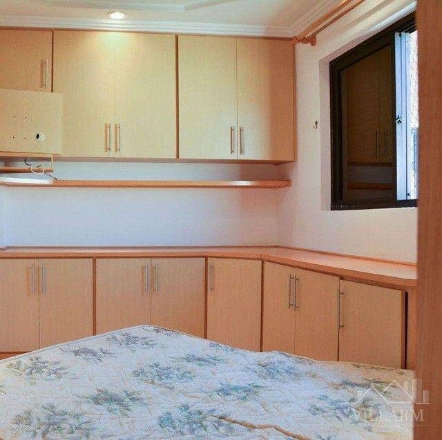 Apartamento com 4 dormitórios para alugar, 196 m² por R$ 5.700,00/mês - Vila Santo Estéfan - Foto 11