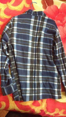 Camisa flanela xadrez - Foto 2
