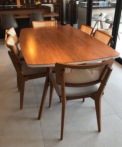 Mesa de jantar com 6 cadeiras Tok Stok - Foto 3