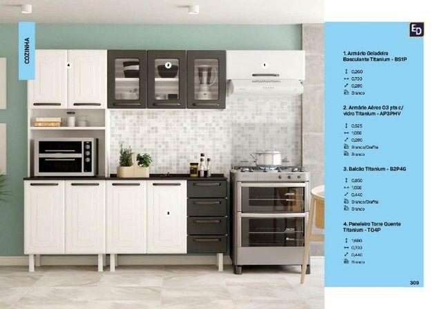 armario armario armario de cozinha titanium