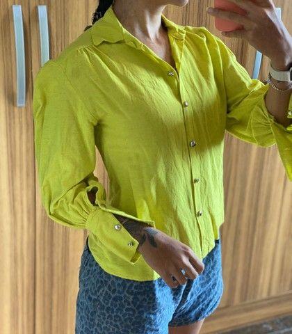 Camisa de botão  - Foto 2
