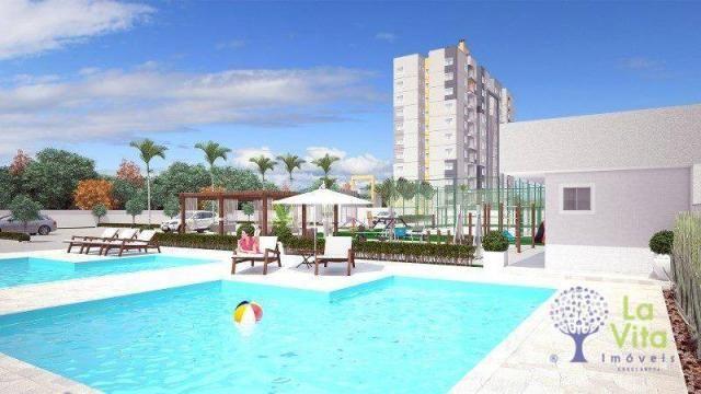 Apartamento com 2 dormitórios à venda, 52 m² por R$ 248.328,00 - Itacolomi - Balneário Piç - Foto 7