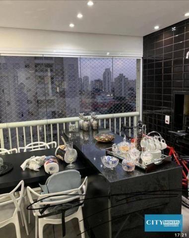 Apartamento com 3 dormitórios à venda, 107 m² por R$ 1.080.000 - Tatuapé - São Paulo/SP - Foto 8